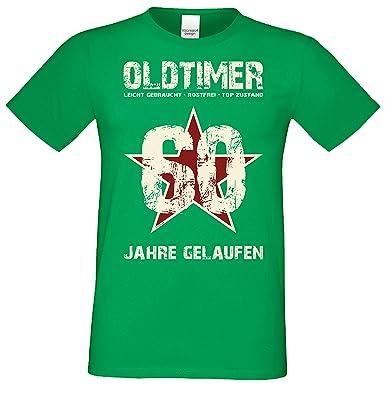 Geburtstagsgeschenk Männer Herren Sprüche T Shirt Oldtimer 60