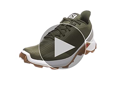 Salomon Alphacross, Zapatillas de Trail Running para Hombre, Gris Lead White India Ink, 40 EU: Amazon.es: Zapatos y complementos