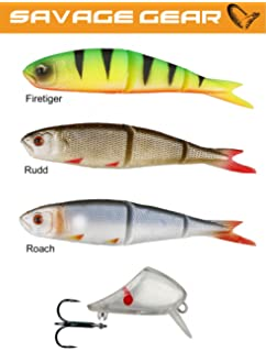 Savage Gear Soft 4Play Loose Body Fishing Lure 8-19cm 4-60g Set Pike Bass