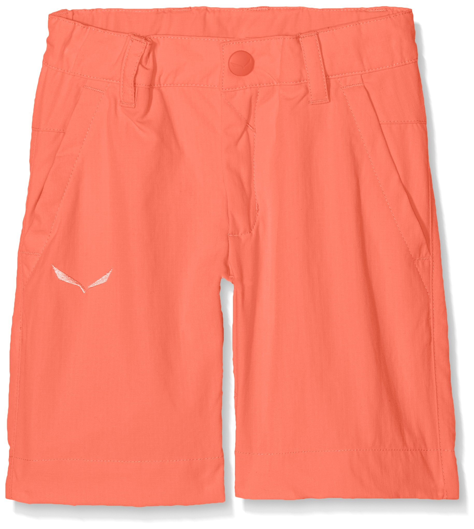 Salewa Fanes Dry K Children's Unisex Hiking Shorts, Baby, Fanes Dry K, Hot Coral by Salewa