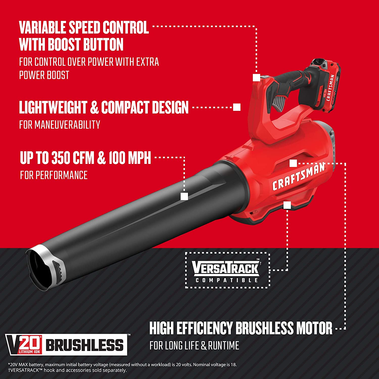 CMCF900M1 CMCB204 with V20 Impact Wrench Cordless Kit CRAFTSMAN ...