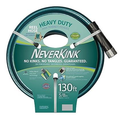 Teknor Apex Neverkink 8615 130, Heavy Duty Hose Reel Garden Hose, 5/