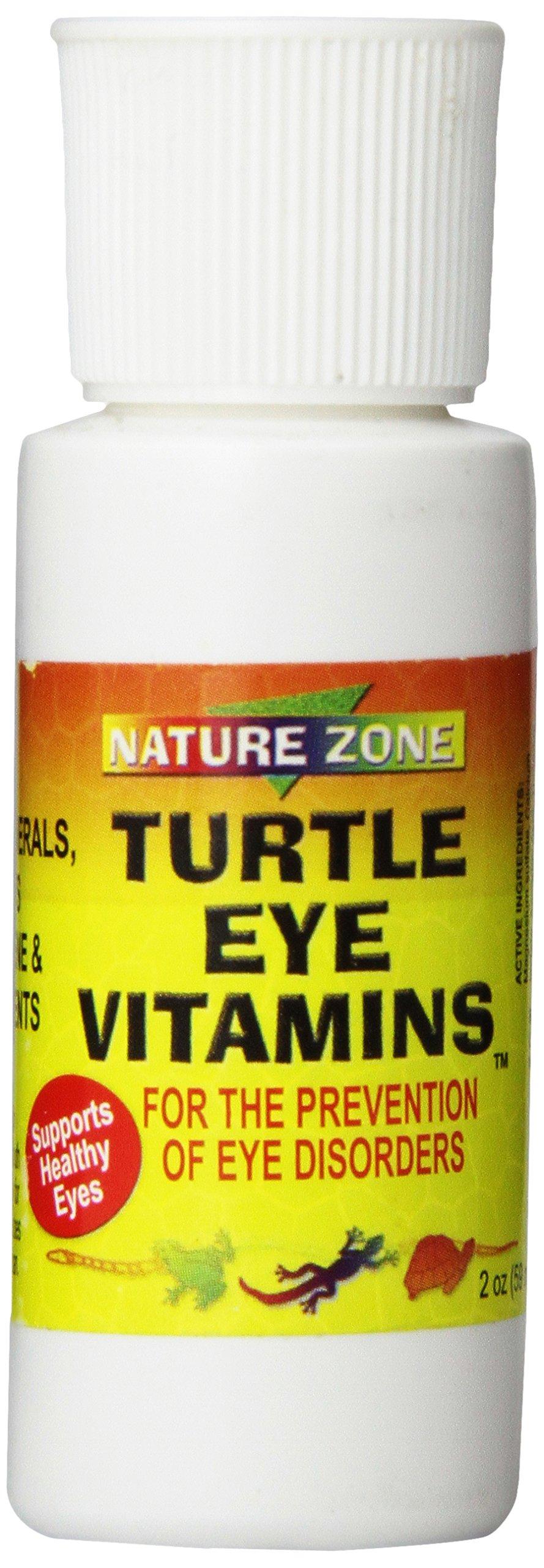 Nature Zone SNZ59251 Turtle Eye Vitamin Supplement, 2 oz