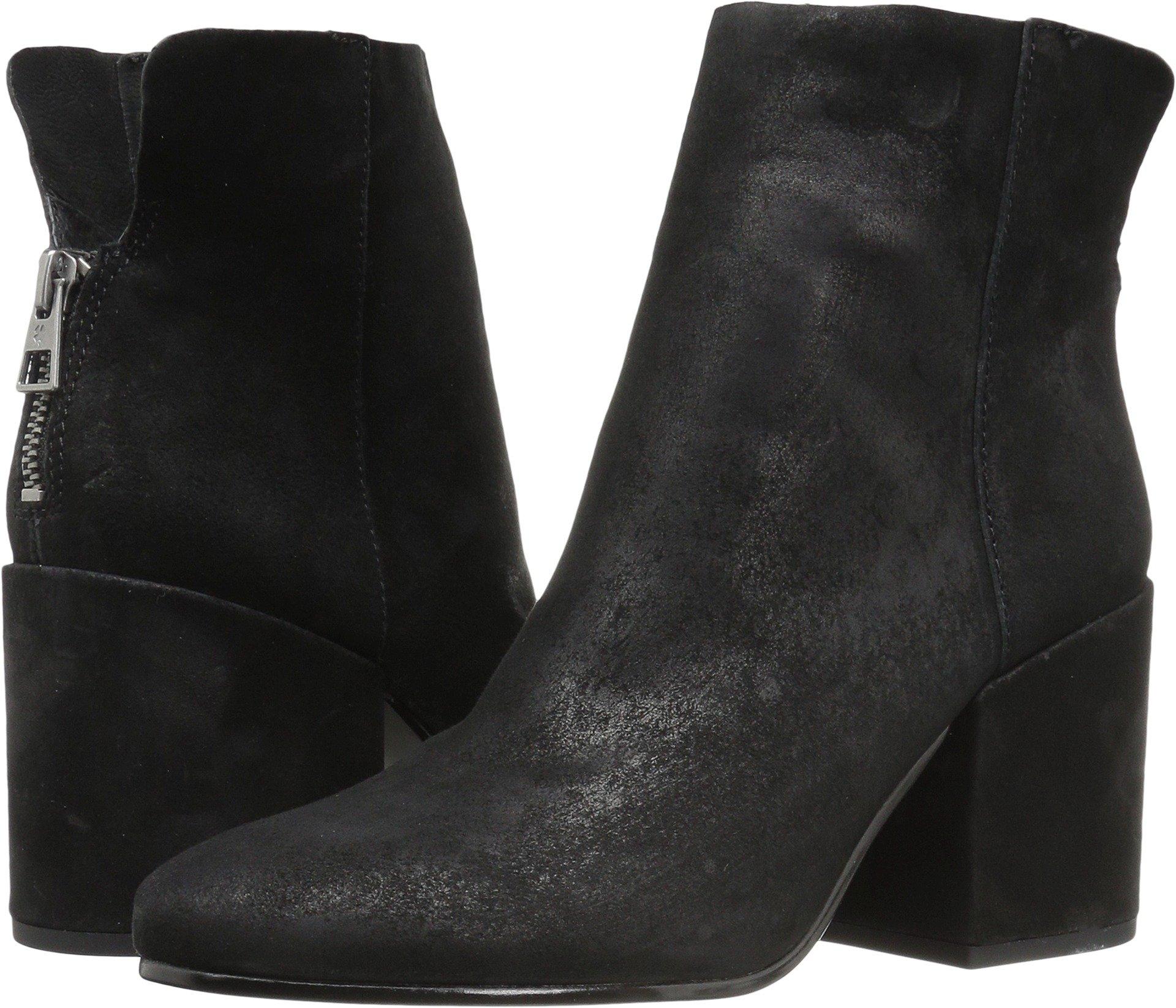 Lucky Brand Women's Ravynn Ankle Boot, Black, 8 Medium US
