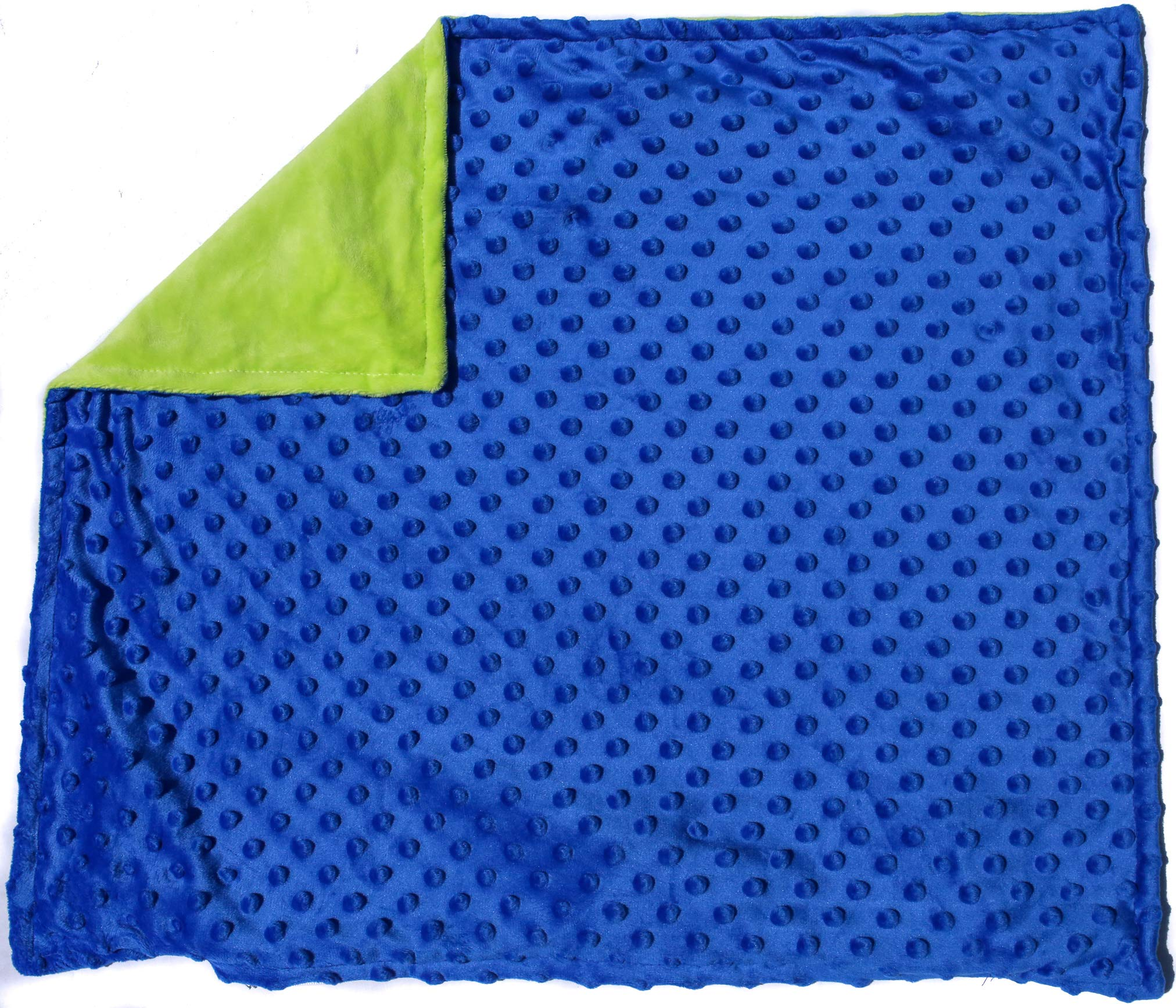 Sensory Weighted Lap Pad for Kids - Includes Cover - Relaxes and Relieves Stress and Anxiety Symptoms Great for Children with Autism, Sensory Processing Disorder, ADHD - Borbona