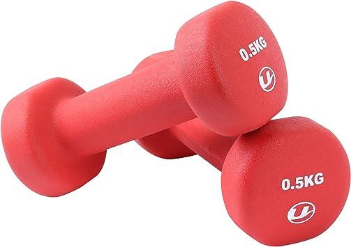 Ultrasport Unisex Adult - Conjunto de 2 mancuerna de fitness de ...