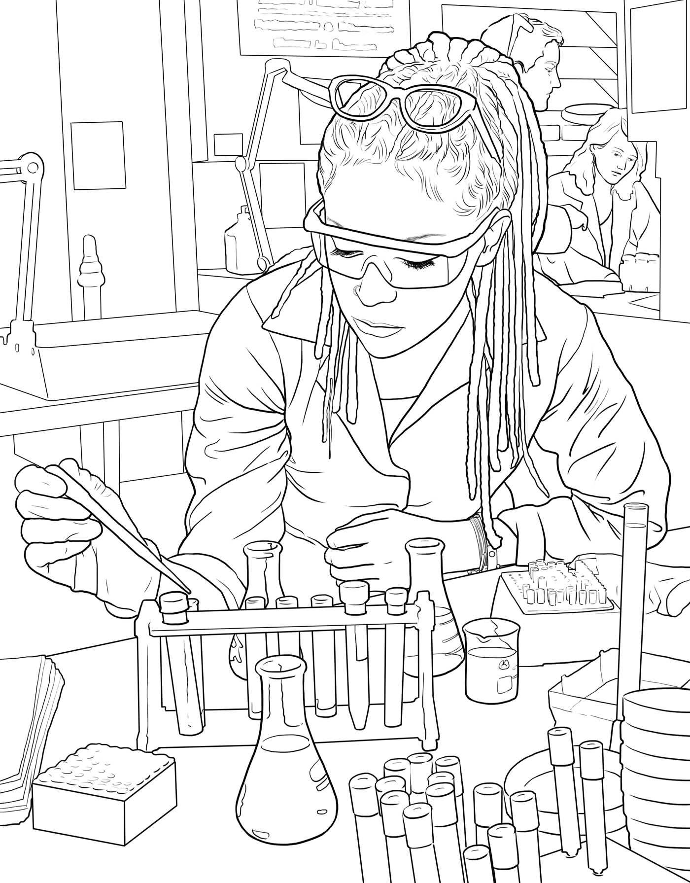 Orphan Black The ficial Coloring Book Insight Editions