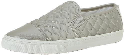D Giyo, Zapatillas para Mujer, Plateado (White), 41 EU Geox