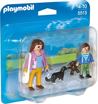 PLAYMOBIL Duo Pack - Madre con niño, Figuras (5513): Amazon.es ...