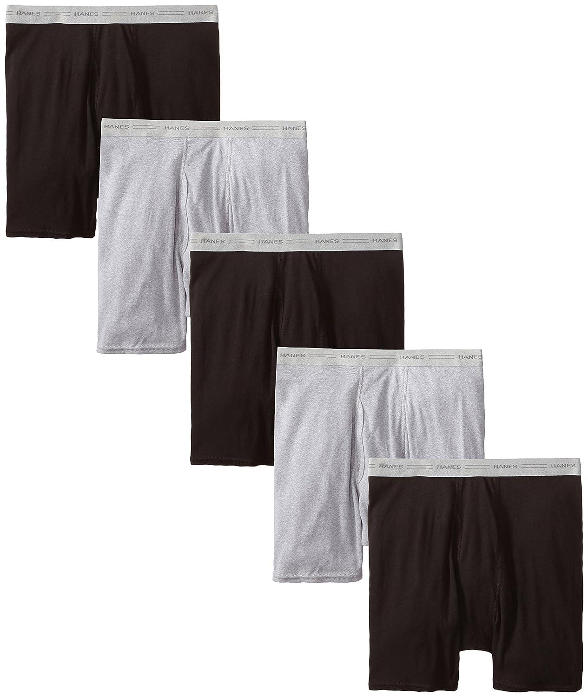 Hanes Men's Boxer Brief (Pack of 5) Hanes Men' s Underwear 2349Z5