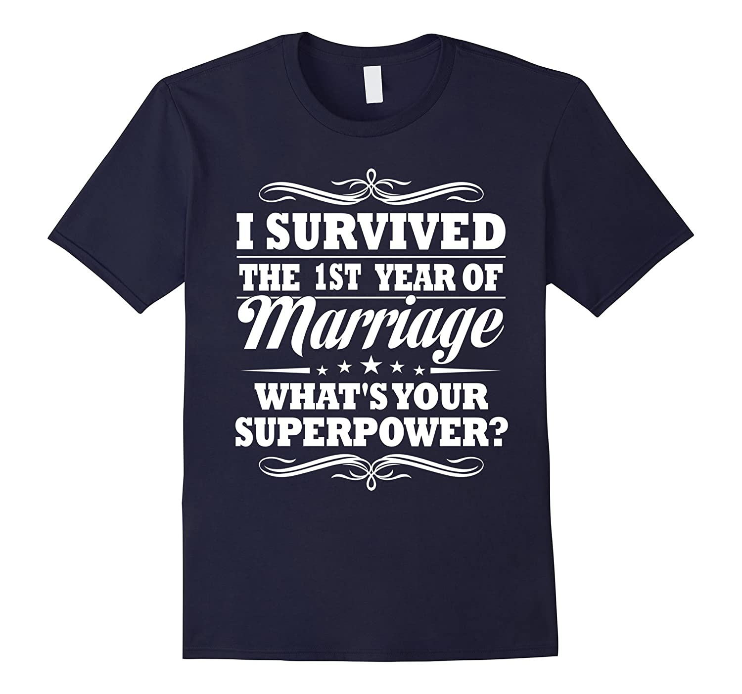 1st Wedding Anniversary Gift Ideas For Her Him- I Survived-PL ...