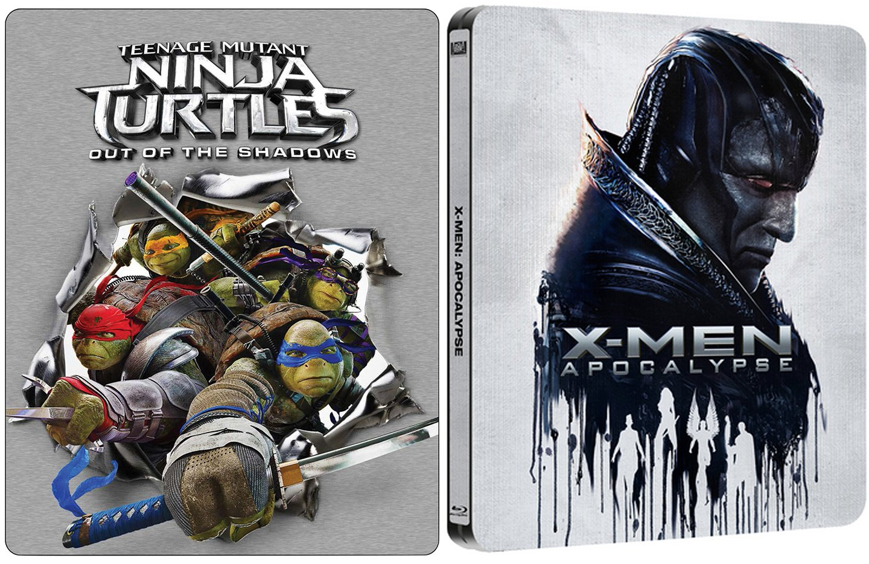 Amazon.com: X-Men Apocalypse Exclusive Steelbook + Teenage ...