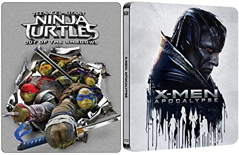 Amazon.com: X-Men Apocalypse Exclusive Steelbook + Teenage ...