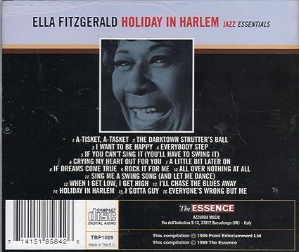 6f29f38eabcb6f Ella Fitzgerald - Holiday in Harlem - Ella Fitzgerald - First Lady of Jazz  - 16 Songs - Amazon.com Music