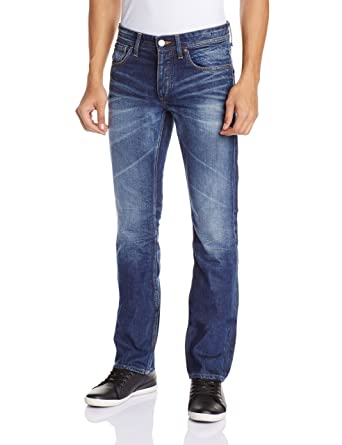 9d0a5b69b80d4e JACK & JONES VINTAGE - Jeans Droit - Homme - Bleu (Medium Blue Denim ...