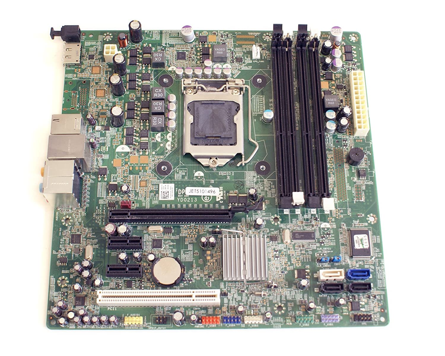 81CwsSwcKML._SL1500_ amazon com genuine x231r,0x231r dell motherboard mainboard for  at readyjetset.co