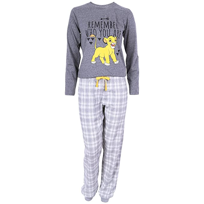 Disney - The Lion King - Pijama - para mujer Gris gris