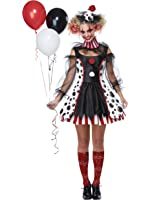 California Costumes Twisted Clown Adult Costume-