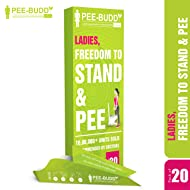 PEE BUDDY Peebuddy Female Urination Device 10 Funnels with OXO Biodegradable Leak Proof Bags 15 Pcs | After Using Put Used Funnel in Leak Proof Bag | Keep Your surroundings Fresh and Clean