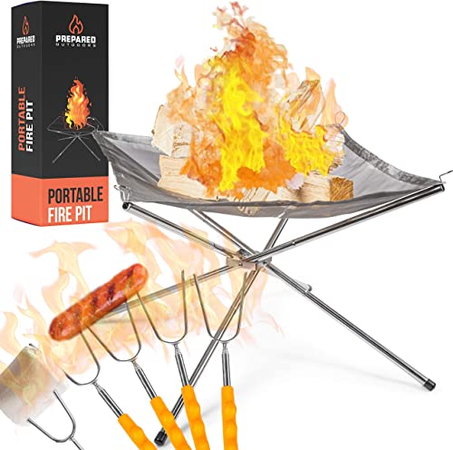 Portable Fire Pit Outdoor Extra Large