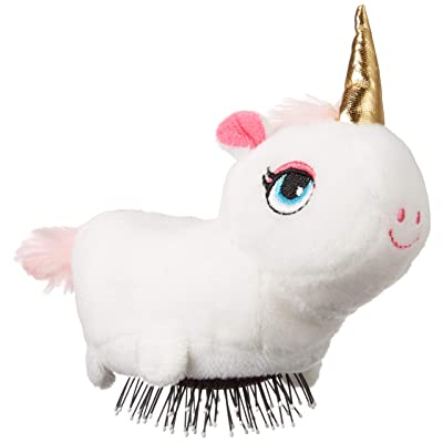 Albertino Plush Brush Hair Comb Unicorn: Beauty