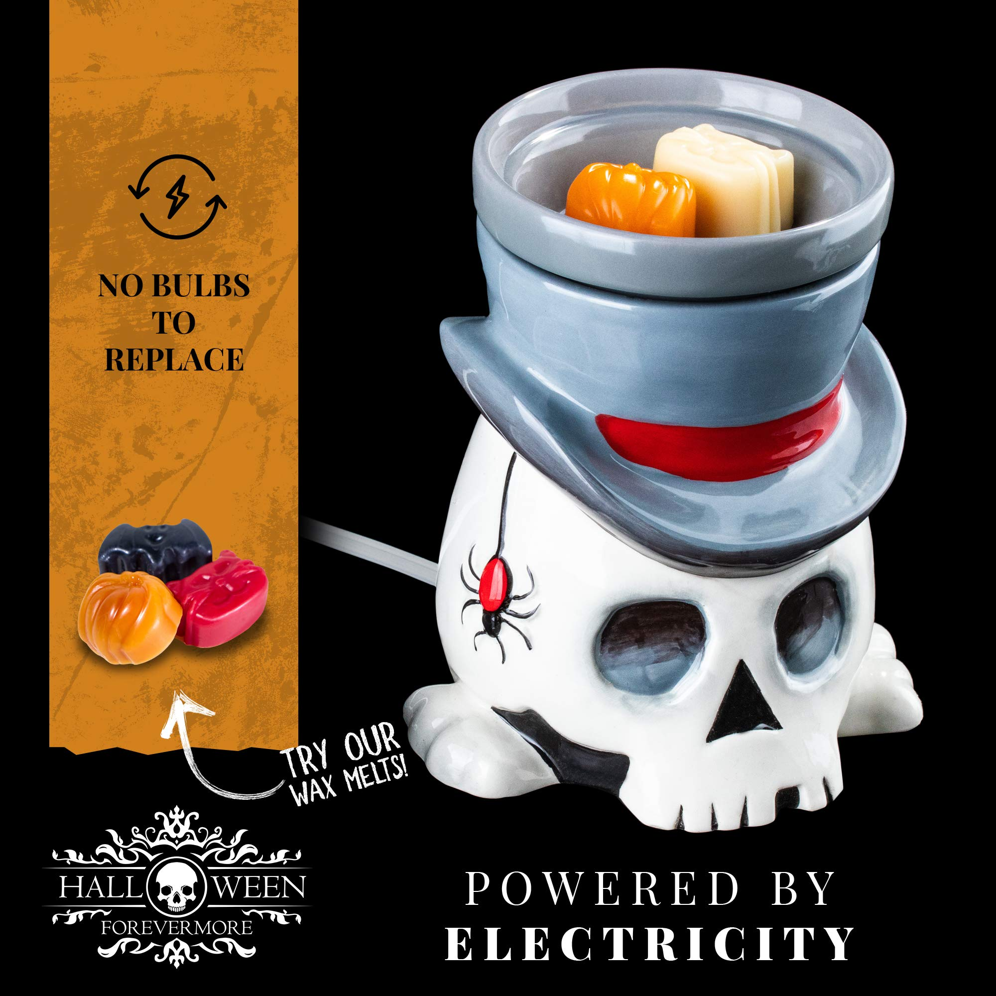 The Undertaker Horror Style Wax Warmer by Halloween Forevermore (Image #5)
