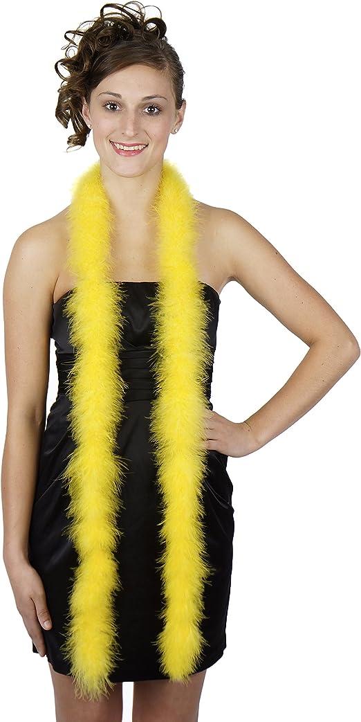 Golden Yellow 14 Gram Ultra Marabou Feather Boas