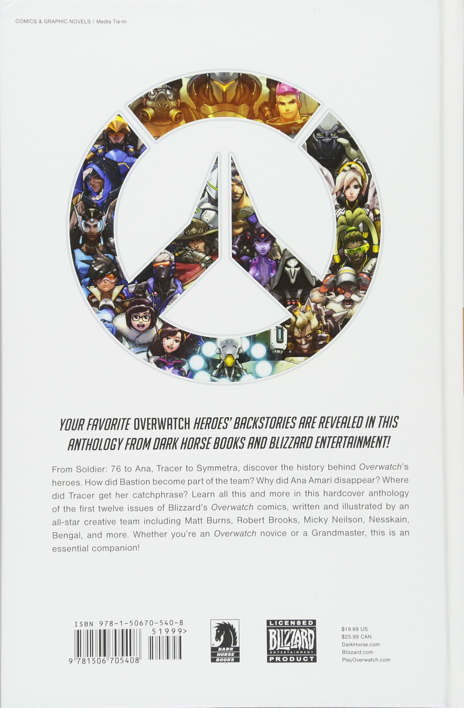 Amazon.com: Overwatch: Anthology Volume 1 (9781506705408 ...