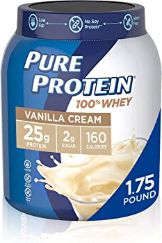 Pure Protein 1.75 lbs Vanilla Cream High Protein Powder