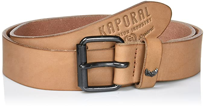 Kaporal EJERO, Ceinture Homme, Marron (Nuts), (Taille Fabricant  85 ... 052005329f2