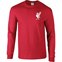 Liverpool Football Shirt 60's Style Sixties Old Fashioned Retro Style Liver Bird LFC