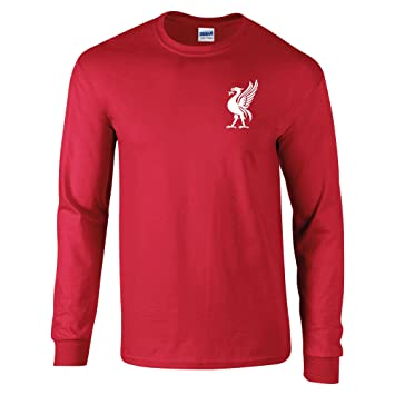 fc38a2498 Bags of Nostalgia Liverpool Football Shirt 60's Style Old Skool Old  Fashioned Retro Style Liver Bird