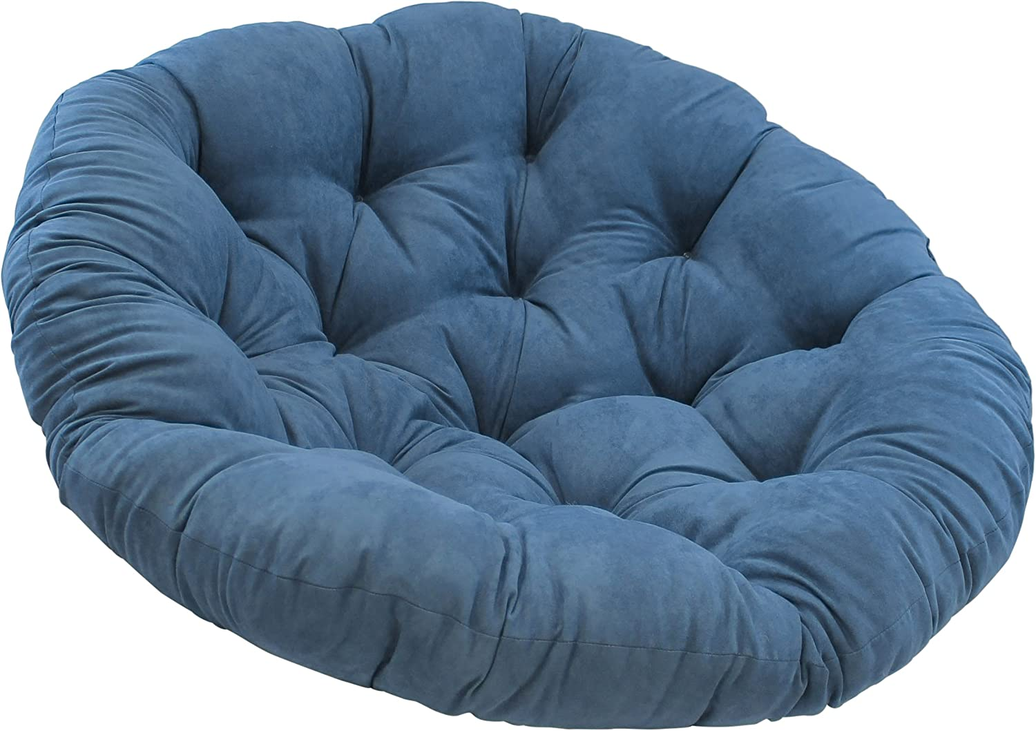 COTTON CRAFT Papasan Charcoal-- Overstuffed Chair Pillow