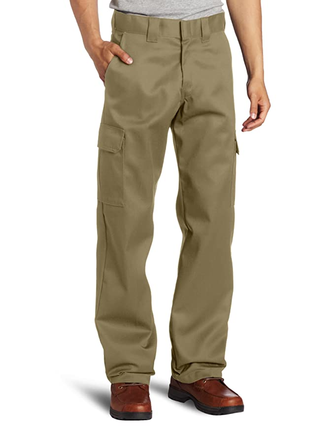 Dickies Men's Relaxed Straight-Fit Cargo Work Pant at Amazon Men's ...