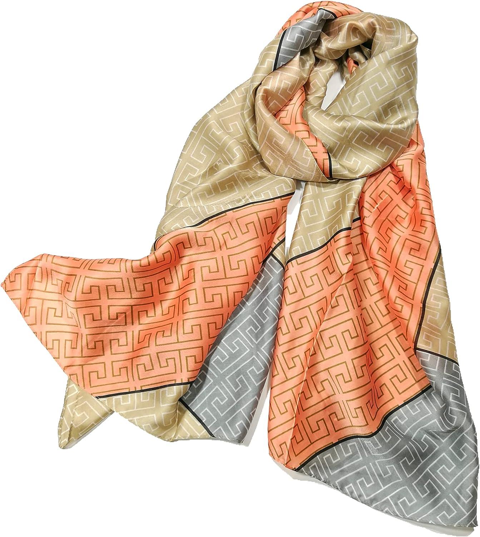 Women/'s Flower Printing Scarf Shawl Long Chiffon Sunscreen Beach Shawl Wrap LG