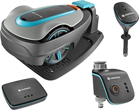 Gardena Kit Complet Smart Sileno City : Tondeuse Robot Smart ...