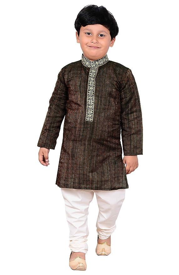 6c95cd932 Amazon.com: Boys Indian Kurta pajama Shalwar Kameez for kids Bollywood theme  & EID party 898: Clothing