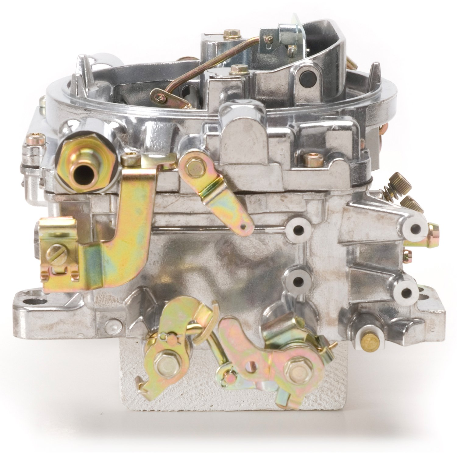 Edelbrock 1405 Performer 600 CFM Square Bore 4-Barrel Air Valve Secondary Manual Choke New Carburetor by Edelbrock