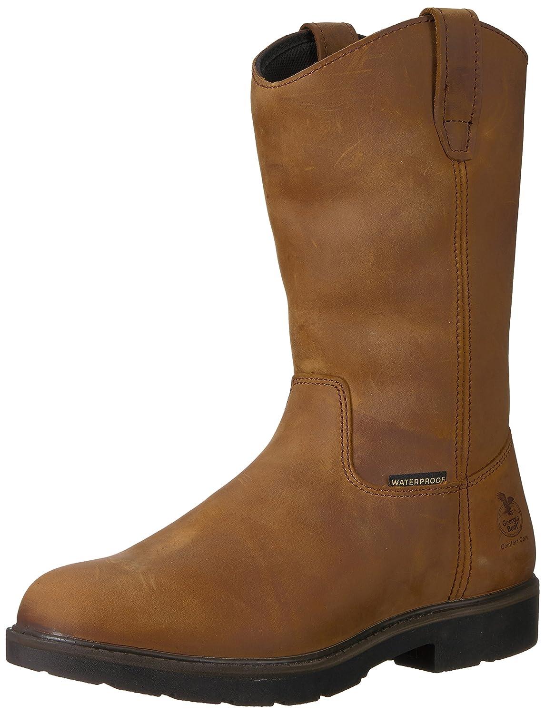 Georgia GB00085 Mid Calf Boot B01936WU5E 8 M US|Brown