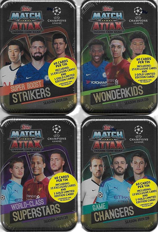 Topps match coronó Action 2019//20-1 Tin Box