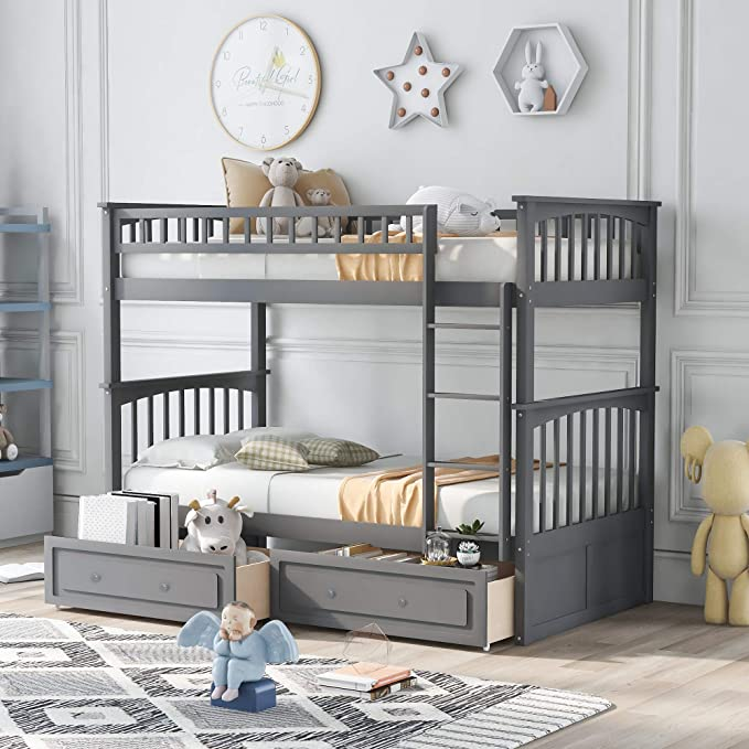 Best for Comfort: Merax Store Bunk Beds for Kids