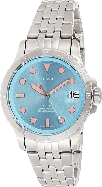 Fossil Reloj de Mujer FB-01 con 3 manecillas y Fecha.