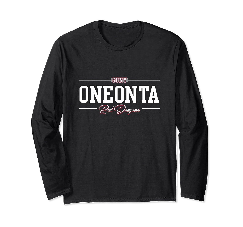 SUNY Oneonta NCAA Long Sleeve 1706BA02-alottee gift
