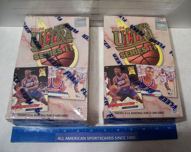 Fleer Ultra 1993 Series 2 MLB factory sealed box