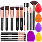 InnoGear Makeup Brushes Set, Professional Cosmetic Brush Set with 16 Makeup Brushes and Sponges and Brush Cleaner for…