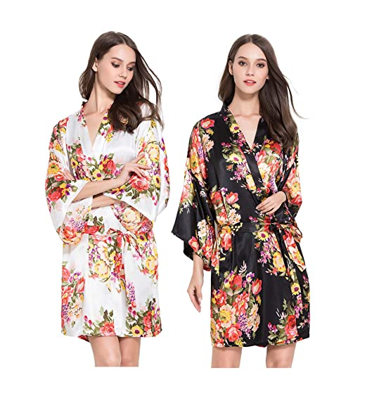 Set of 2 Hen Party Getting Ready Robes 2e0a0b653