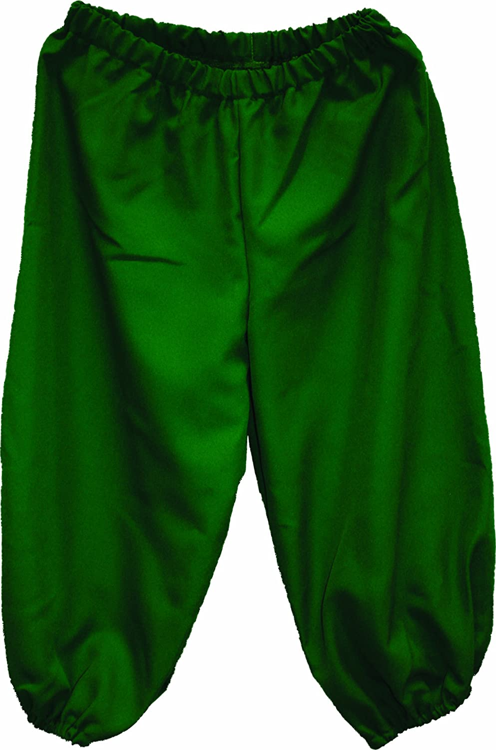 Deluxe Adult Costumes - Men's green pirate knickers, pirate breeches, pirate pants, pirate trousers by Alexanders Costumes