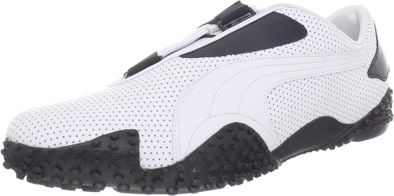 Puma Mostro Perf Sneaker,WhiteBlack,14 US Mens15.5 D US