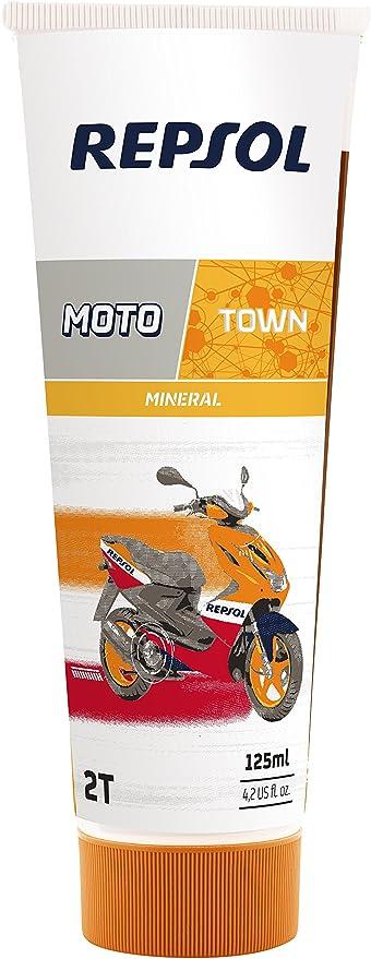Repsol RP151X53 Moto Town 2T Aceite de Motor, 125 ml: Amazon.es ...