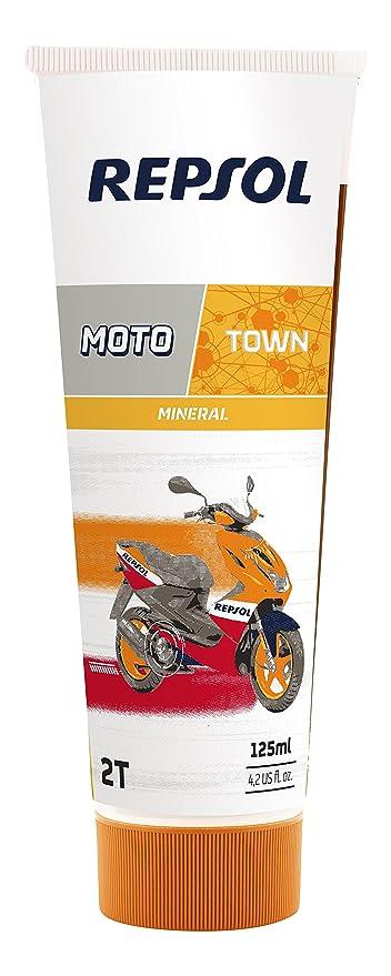 Repsol RP151X53 Moto Town 2T Aceite de Motor, 125 ml